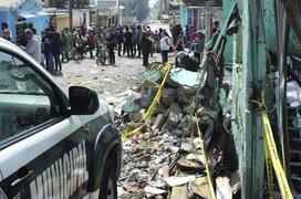 México: 4 muertos deja explosión en taller de pirotécnicos
