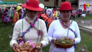 Huari: población celebró tradicional carnaval de Yacya con bailes y comidas típicas