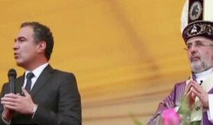"""""""Con mis hijos no te metas"""": ministro del Solar ofreció discurso conciliador"""