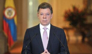 Colombia: presidente Santos reconoce que recibió aportes de Odebrecht