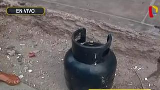 Cercado de Lima: balón de gas explosiona y afecta tres viviendas