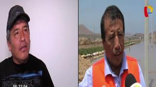 Huaicos enfrentan a alcaldes de Chilca y Pucusana