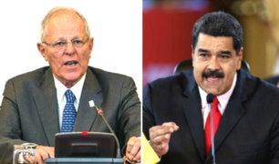 """Maduro le pide a PPK que cese """"ataques"""" contra gobierno de Venezuela"""