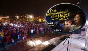 Municipalidad de Lima ofrecerá concierto gratuito por Día de la Mujer