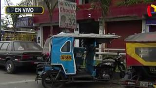 La Victoria: vehículos abandonados en exteriores de comisaría Apolo