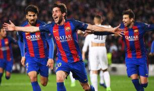 Champions League: Barcelona logra hazaña y pasa a cuartos de final