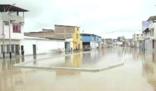 Niño muere ahogado tras desborde de río Tumbes