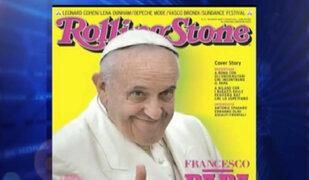 Papa Francisco protagoniza portada de Rolling Stone