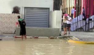 Inundación de la Corte Superior de Piura pondría en riesgo expedientes
