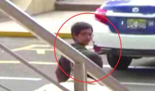Video muestra a secuestradores ingresando libremente a sede de la Dirincri