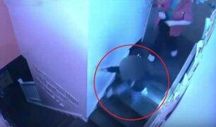 VIDEO: trabajadora de guardería lanza por las escaleras a una niña de cuatro años