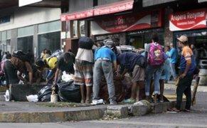 Miles protestan frente al Ministerio de Alimentos por hambruna en Venezuela