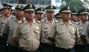 Exdirector PNP plantea solución para evitar sobrepeso en policías