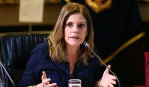 Mercedes Aráoz descarta enfrentamiento con ministra Marisol Pérez Tello