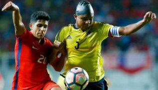 Chile ganó 1-0 a Colombia en el hexagonal final del Sudamericano