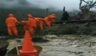 Huaico bloquea tramo que une Jauja y Tarma