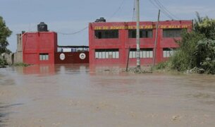 Cañete: distrito de Mala continúa inundado tras desborde de río