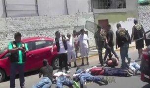 Capturan a delincuentes que asaltaron avícola en Chorrillos