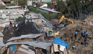 Deslizamiento de tierra en Etiopía deja 46 muertos
