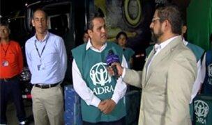 Panamericana Televisión y Adra unidos por los damnificados de Piura