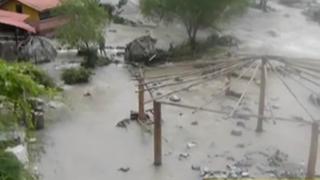 Santa Eulalia: centros campestres afectados por huaicos