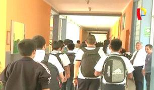 Se reanudaron las clases escolares tras suspensión por falta de agua potable