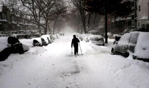 EEUU: Nueva York recibirá la peor tormenta del año