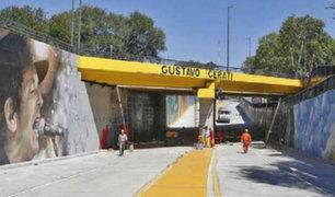 Argentina: inauguran paso a desnivel en honor a Gustavo Cerati