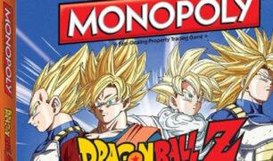 Dragon Ball Z: Gokú y compañía tendrán su versión de Monopoly [FOTOS]