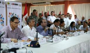 Piura: realizan Consejo de Ministros por emergencia en el norte