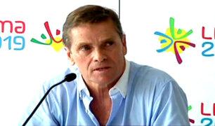 """Carlos Neuhaus: """"Perú tiene recursos para realizar los Juegos Panamericanos"""""""