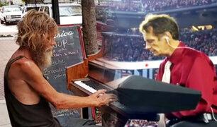 EE.UU.: la música lo convirtió de mendigo a reconocido pianista