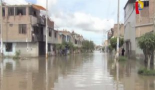 Chiclayo: intensas lluvias dejan decenas de viviendas inundadas