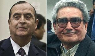 Vladimiro Montesinos y Abimael Guzmán fueron trasladados al penal de Ancón