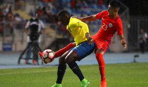 Chile ganó 1-0 ante Ecuador por el Sudamericano Sub 17