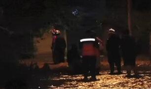 Pachacámac: rescatan a niños de albergue tras desborde del río Lurín