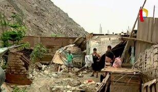 Más de 10 mil personas aisladas por caída de huaico en Huarochirí