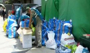 Centros de donación para los damnificados por lluvias y  huaicos