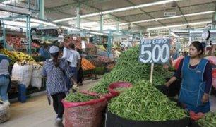 Se incrementan precios de alimentos tras caída de huaicos