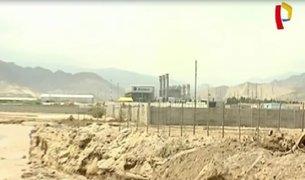Chilca: huaico podría caer en central termoeléctrica
