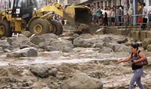 Huaicos en Chosica: la destrucción se repite