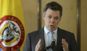 Colombia ofreció ayuda para damnificados por huaicos