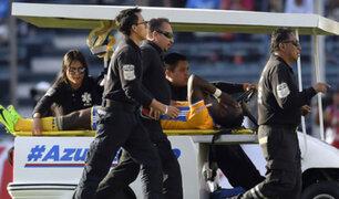 Luis Advíncula se lesionó en México