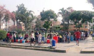 Corte de agua: angustia y colas por desabastecimiento