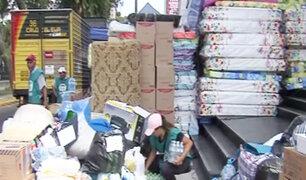 Juntos por el Perú: donativos continúan llegando a La Esquina de la Televisión