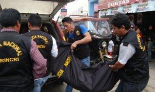 Asesinan a balazos a joven policía en Jicamarca