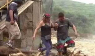 Chosica: distrito de Barba Blanca arrasado por el huaico