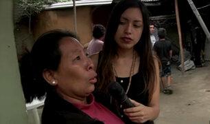 Desgarradores testimonios de damnificados por huaicos en Chosica