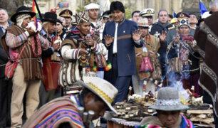 Bolivia vuelve a presentar demanda para acceso al mar