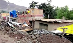 Santa Rosa de Quives: vecinos reclaman ayuda tras daños por huaicos